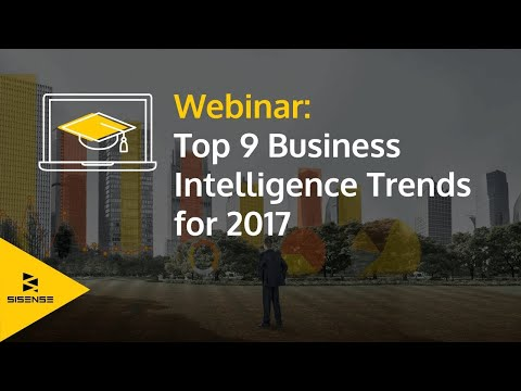 Webinar: Top 9 Business Intelligence Trends for 2017
