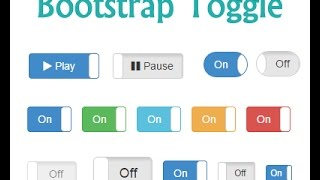 how to create toggle button ? bootstrap toggle switch example thumbnail