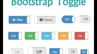 hoe maak knop schakelen ? bootstrap schakelaar voorbeeld