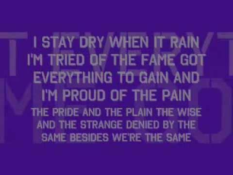 No Quitter Go Getter, Lil Wayne (lyrics on screen)
