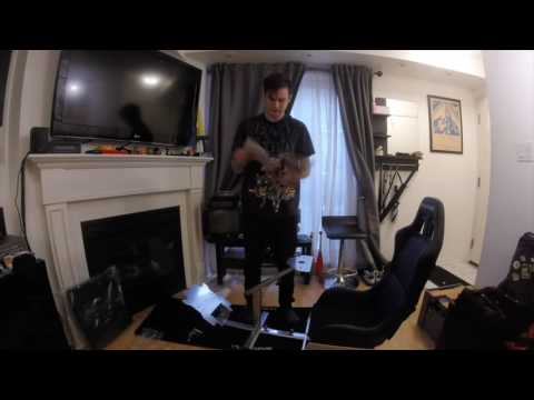 Playseat Evolution Blogger assembly and review - YouTube