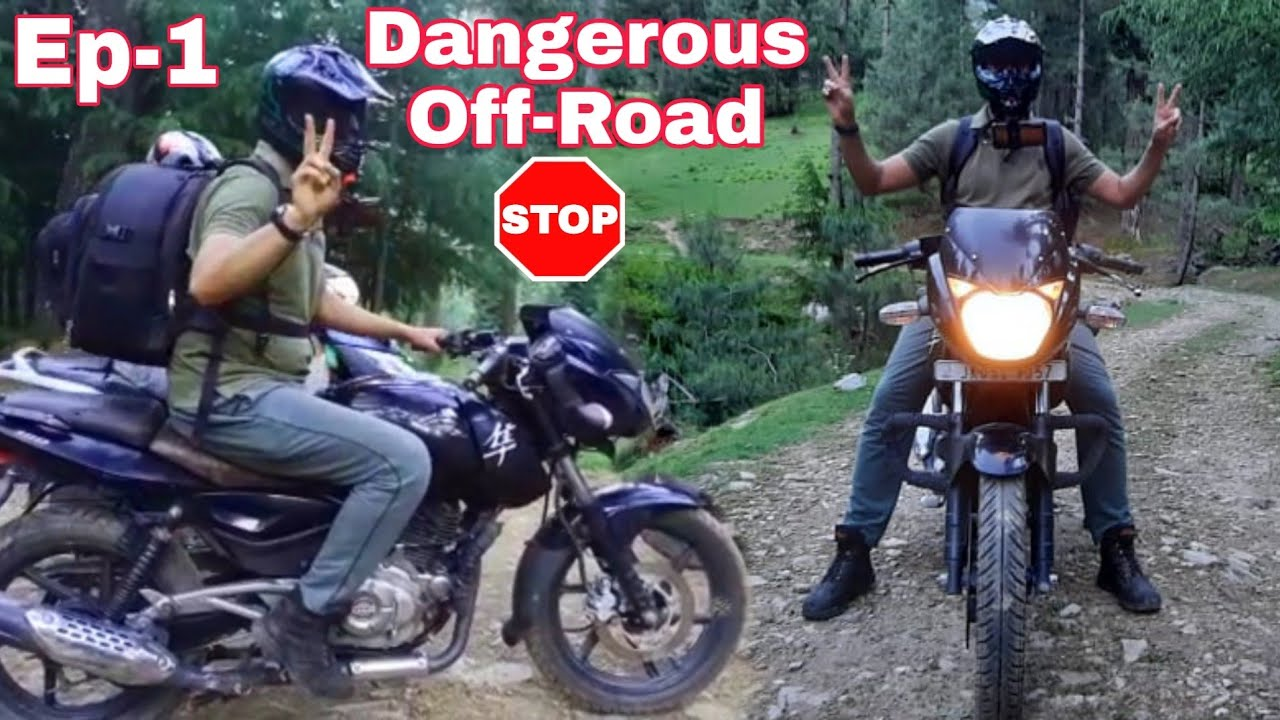 Most Dangerous Off-Road In Kashmir 😳 Guwaas Camp Ep-1