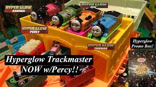 Thomas and Friends Toy Train Promo Box feat. Trackmaster Hyperglow Percy!