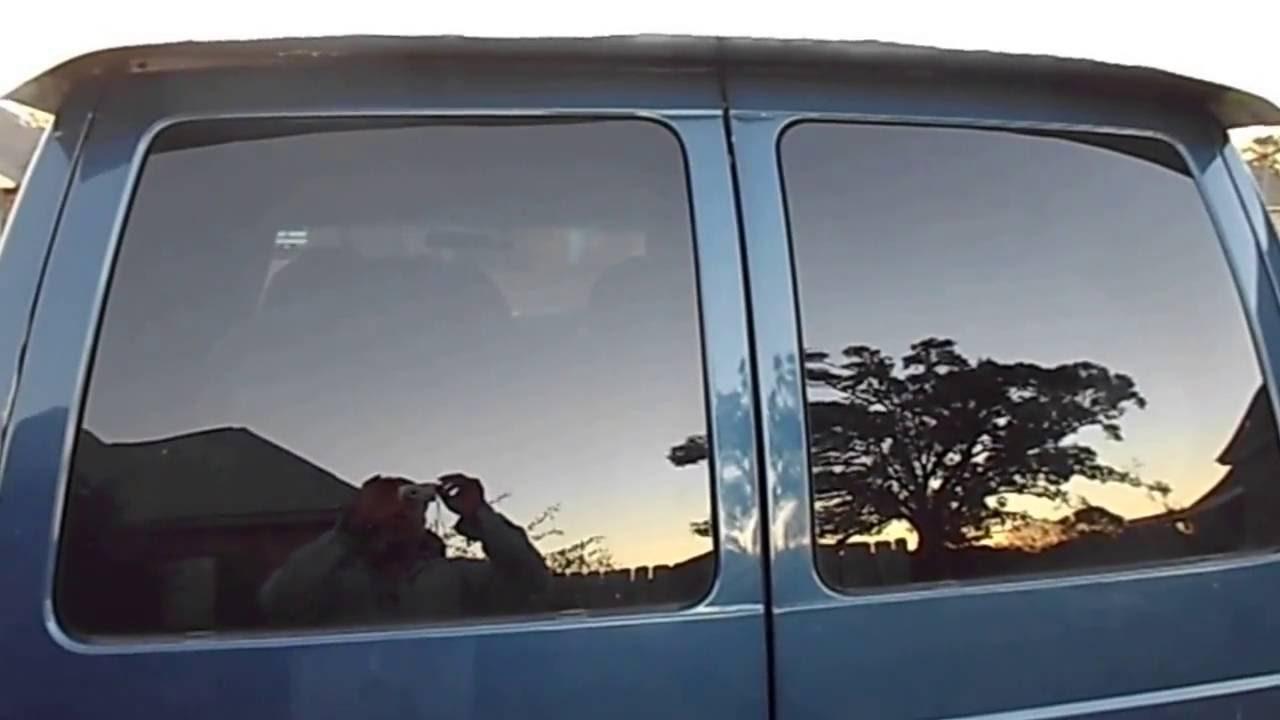 how to fix chevy astro gmc safari van rear door water leak problem [ 1280 x 720 Pixel ]
