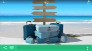игра 94 процента уровень 57 картинка чемоданы море указатель