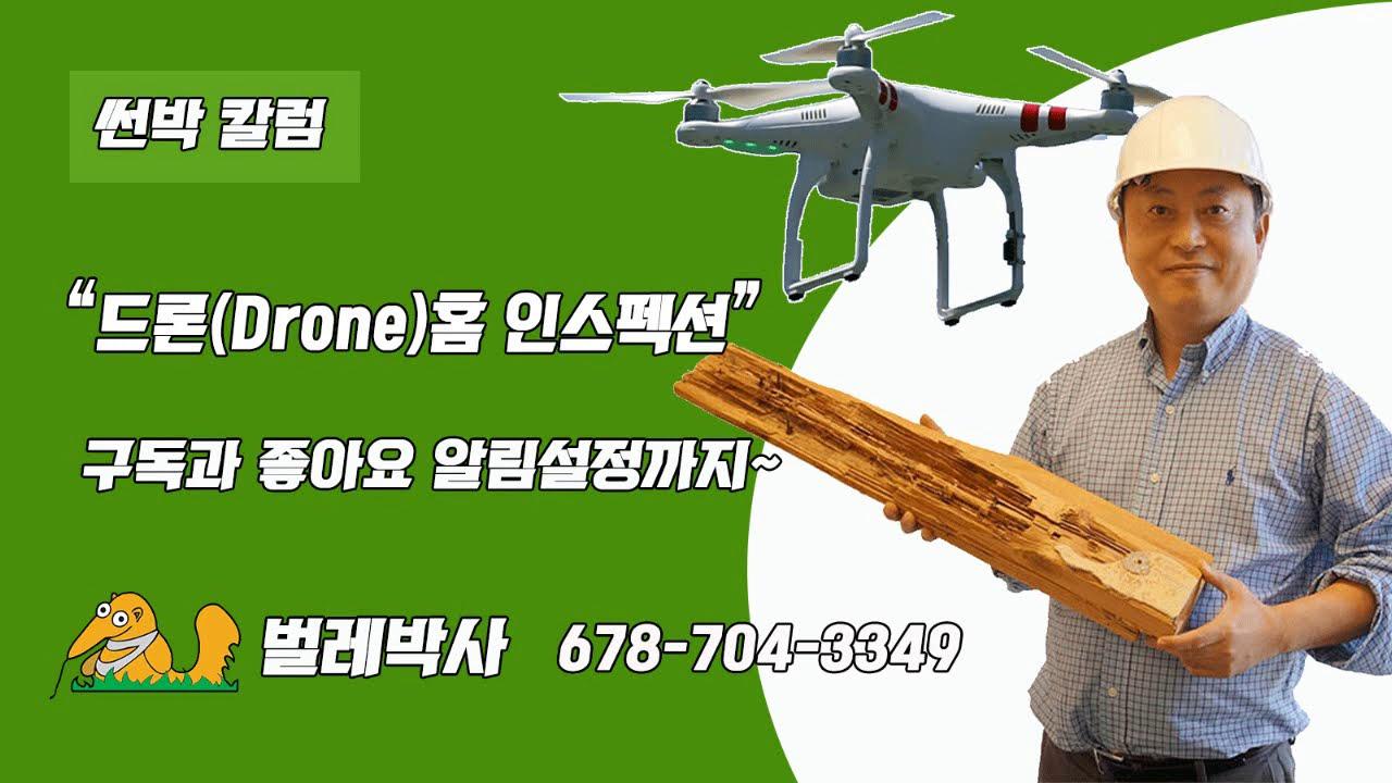 드론(Drone) 홈 인스펙션