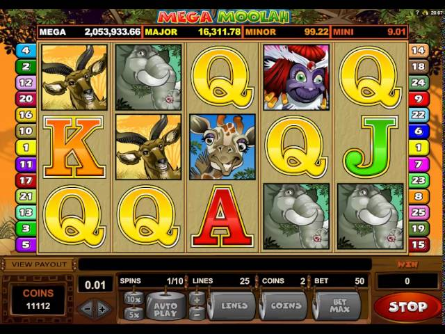 Mega Moolah Jackpot Wheel And Free Spins