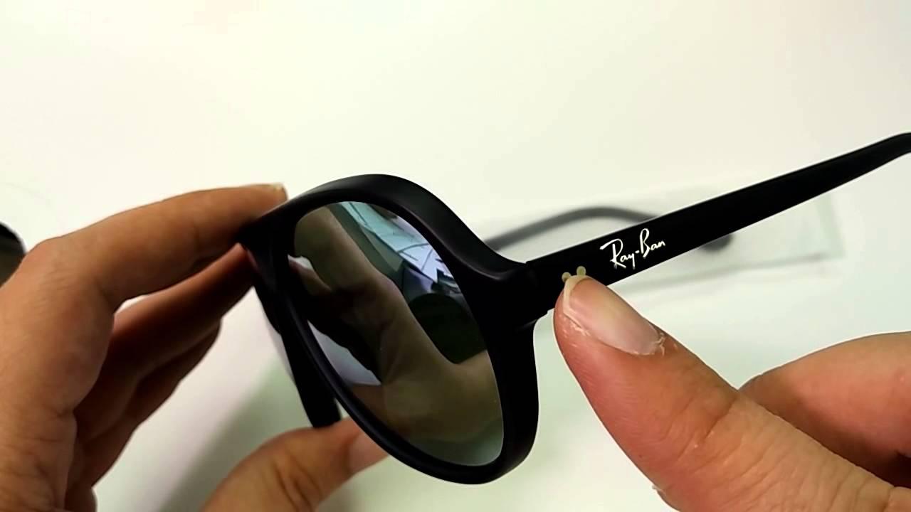 5398e39ea90 專業眼鏡推介  RayBan RB4125F - YouTube