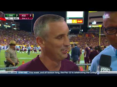 Bobby Hurley Interview With Pac-12 Network's Lewis Johnson