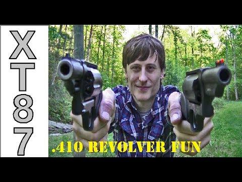.410 Revolvers: The Judge Vs. The Governor - Plinking Fun Factor