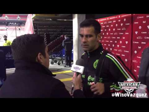 Rafa Marquez answers question in English after Canada Vs Mexico