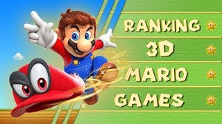 Ranking the 3D Mario Games (Including Odyssey)