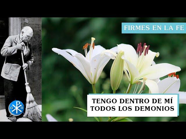 Tengo dentro de mí todos los demonios | Firmes en la fe - P Gabriel Zapata