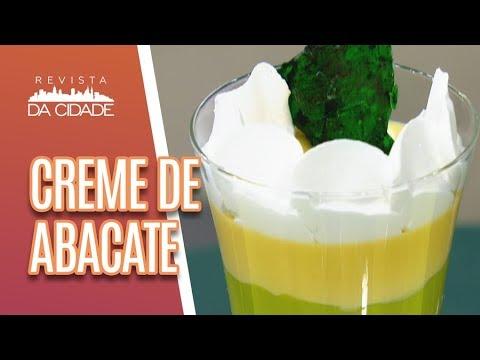 Creme de Abacate com Limão Siciliano - Revista da Cidade (06/07/18)