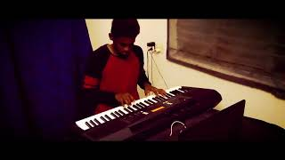 Ninaithu ninaithu paarthal song from 7G Rainbow Colony keyboard cover by Raju