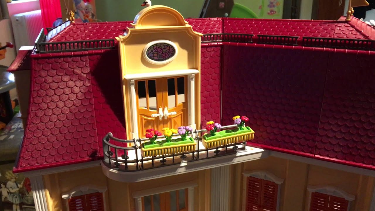 Playmobil Large Grand Mansion 5302 In 4K - YouTube
