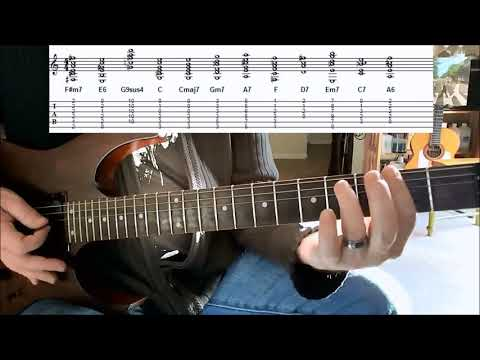 How To Play SUN KING by the Beatles - Part 1