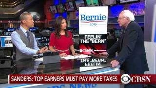 Bernie Sanders on the state of the 2016 race
