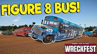 NEW FIGURE 8 BUS RACE & HUGE UPDATE! - Next Car Game: Wreckfest Release Gameplay - Wrecks & Races