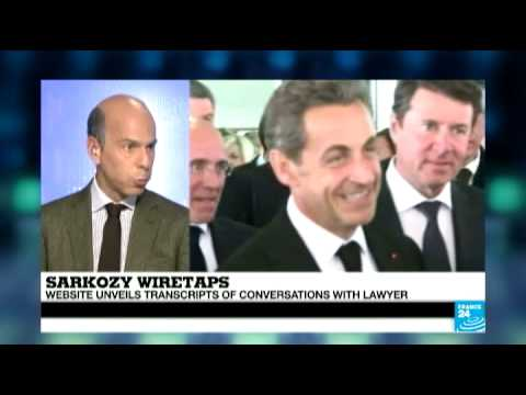 Sarkozy wiretaps: 'evidence of potential influence peddling' says Marc Perelman on FRANCE 24