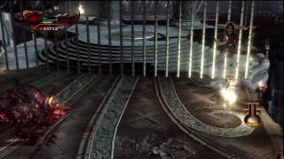 God of War 3 Chaos Mode No Upgrade Run+ Cerberus & satyres Fight