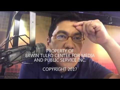 ERWIN TULFO TO  REP. EDCEL LAGMAN: USE YOUR HEAD!