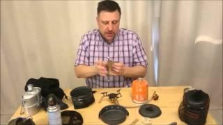 Обзор котелки горелки для мотопутешествия