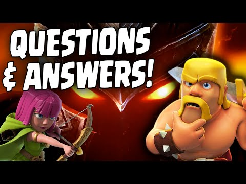 Clash of Clans - Your Questions Answered! Spencer23$