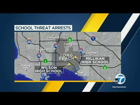 3 Long Beach high schools threatened with violence, 2 students arrested | ABC7