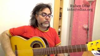 Learning Paco de Lucia`s Tanguillo rhythm and meter / Intermediate level 2 / Ruben Diaz