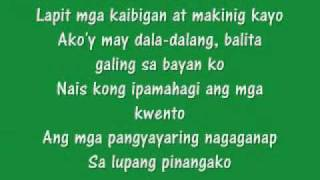 Apl Song Lyrics