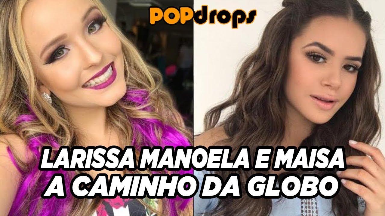 Larissa Manoela e Maisa a caminho da Globo  PopDrops  PopZoneTV ... 8637d951fa
