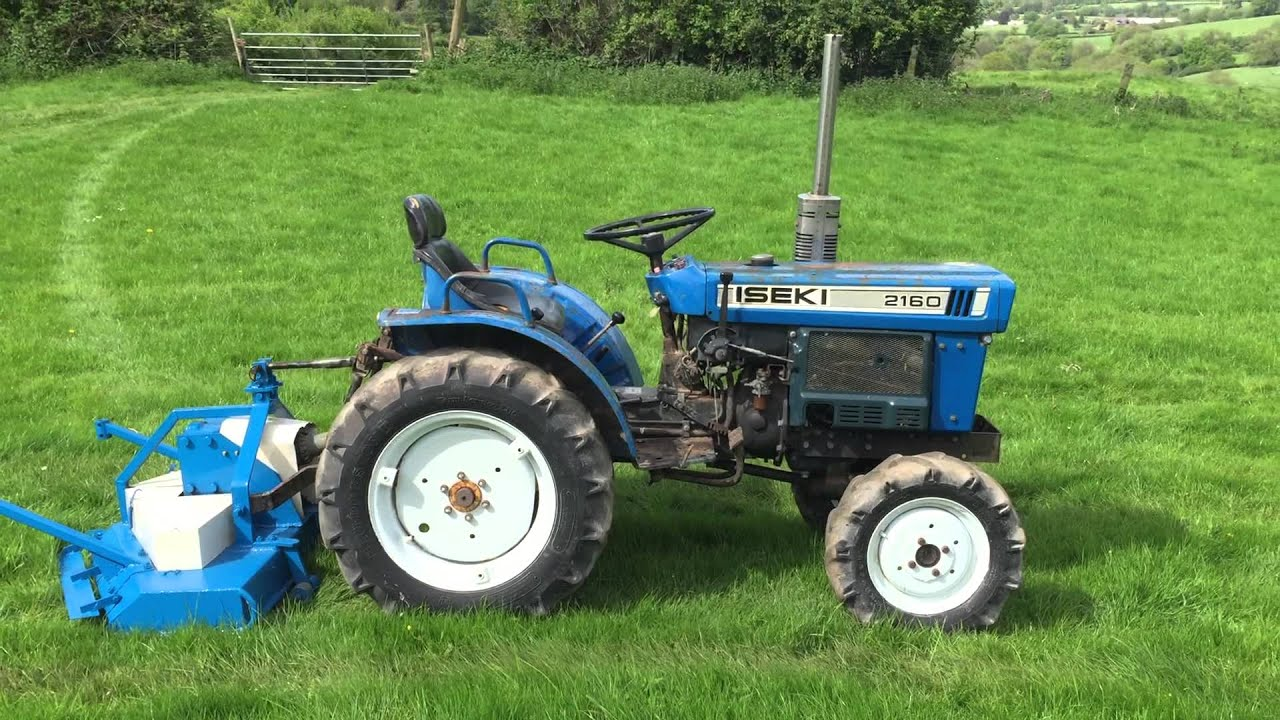 Iseki 4wd Compact Tractor With 4ft Finishing Mower