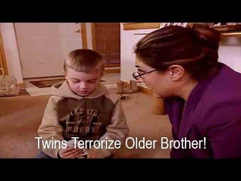Twin Girls Terrorize Older Brother   Supernanny