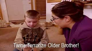 Twin Girls Terrorize Older Brother | Supernanny USA
