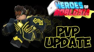 NEW PVP UPDATE! | HEROES OF ROBLOXIA | ROBLOX | iBeMaine