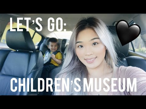 Follow Us Around: The Children's Museum (Vlog #5) | Taylor Vo