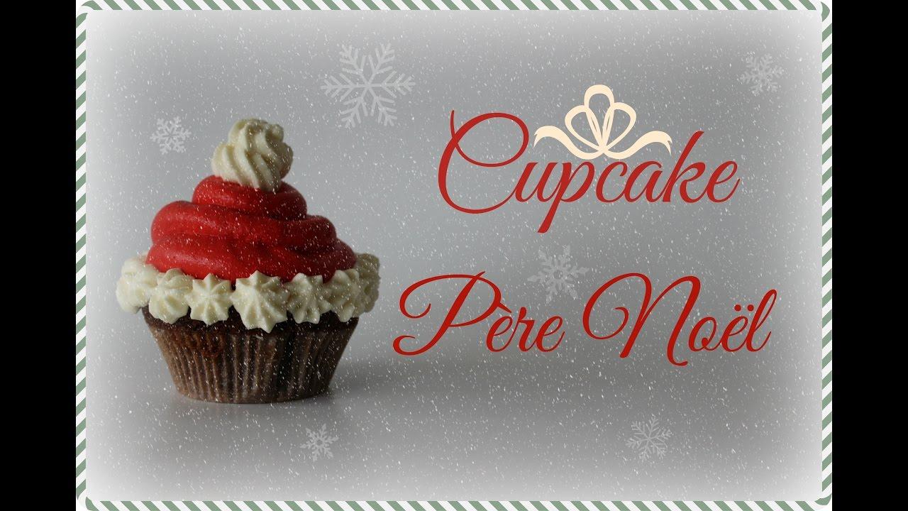 recette cupcake pere noel - Cupcake Colorant Alimentaire