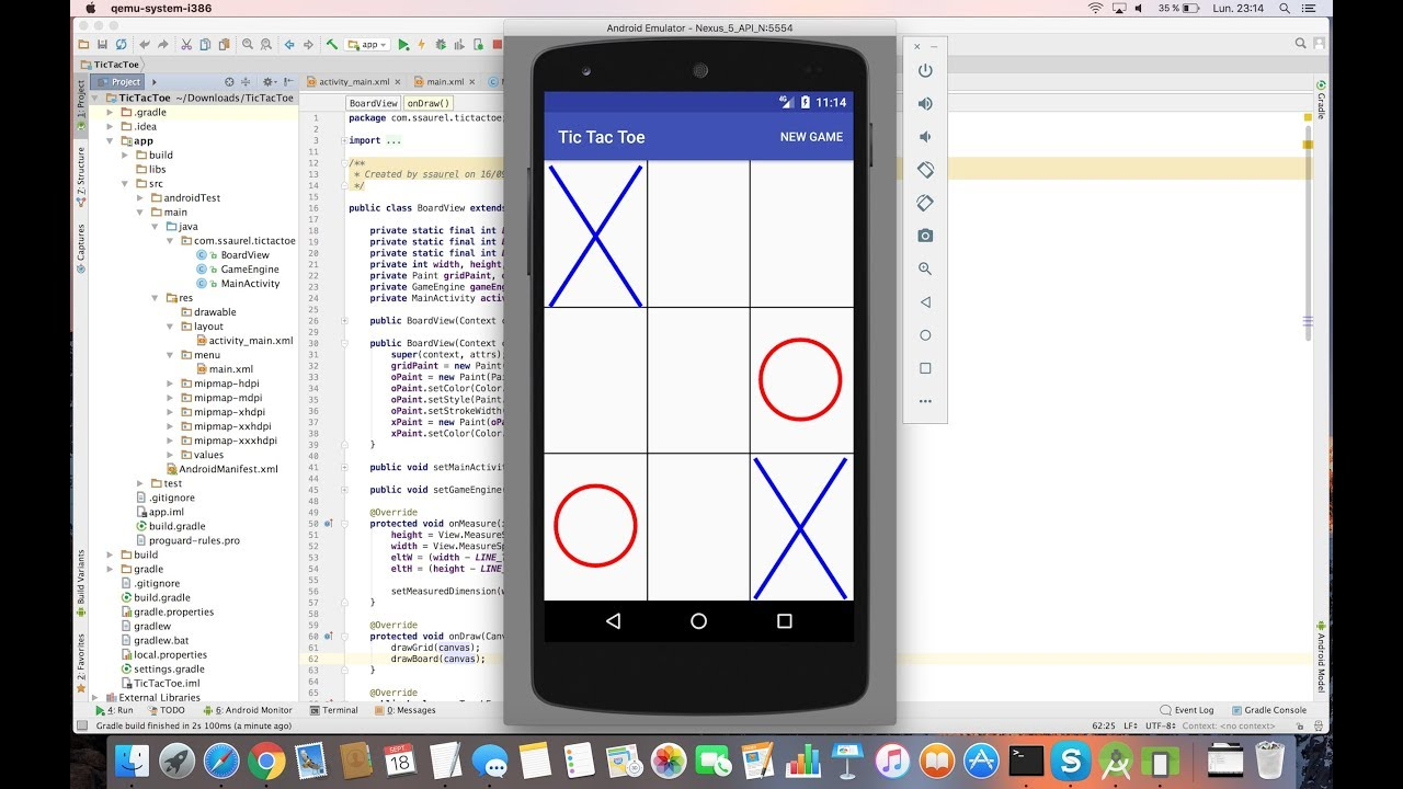 Learn to create a Tic-Tac-Toe Game for Android - Sylvain