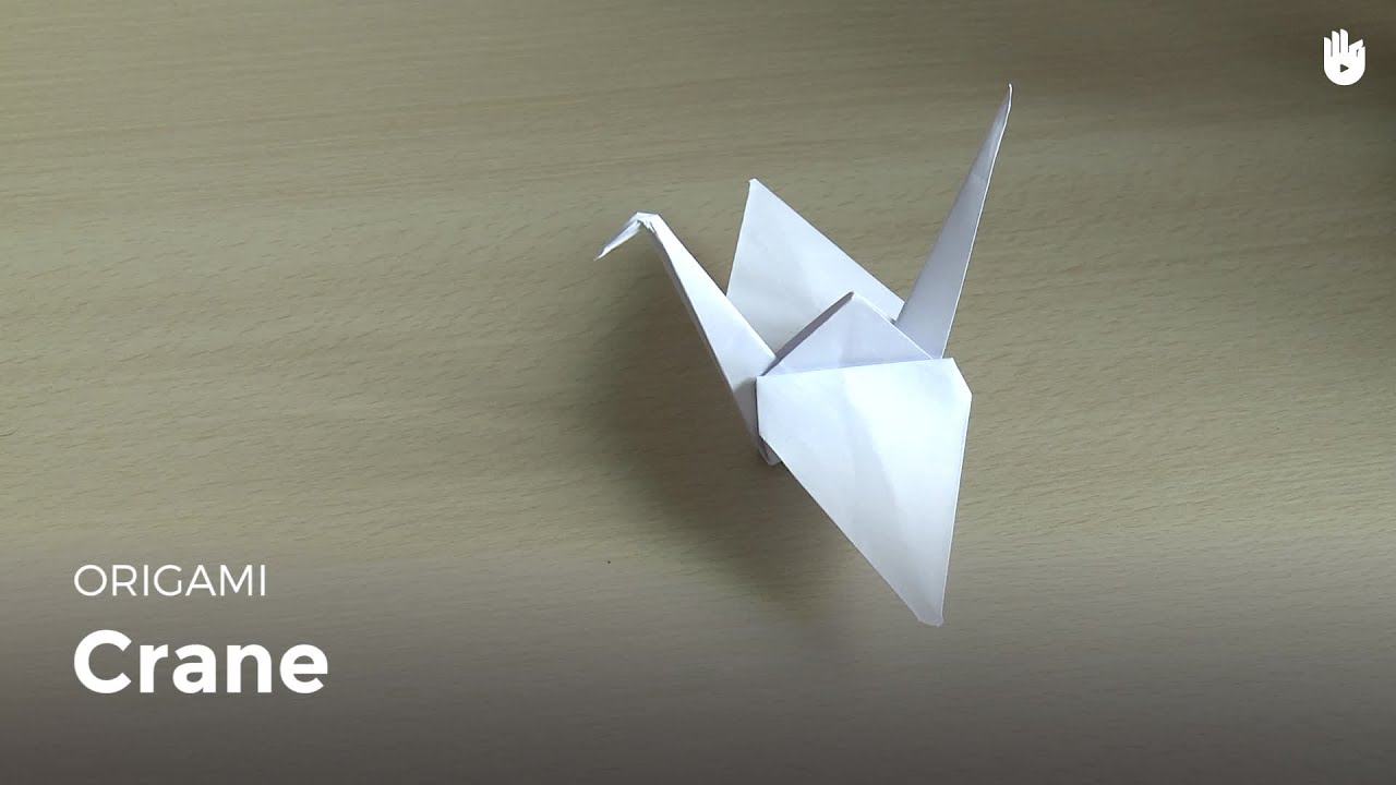How to make an origami crane youtube how to make an origami crane jeuxipadfo Choice Image