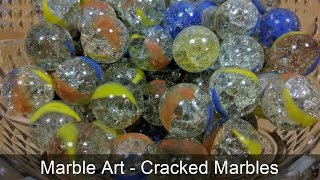 How to use Marbles to decorate your house - Marbles Art