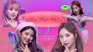 Cherry Bullet(뮤직뱅크) - Love So Sweet  (체리블렛)|stagemix 교차편집