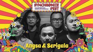 Angsa & Serigala Live at Synchronize Fest - 4 Oktober 2019