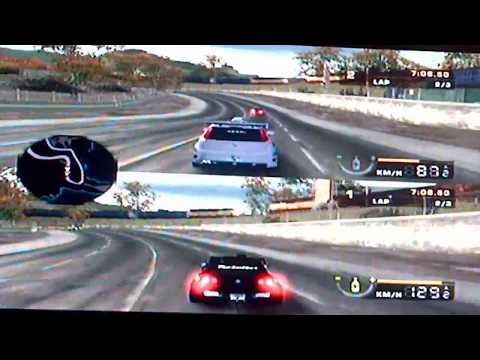 Need For Speed Most Wanted 2 Player Split Screen Grande Punto Vs