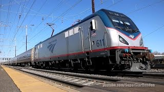 Amtrak Silver Meteor Train No. 97 with brand new Viewliner Baggage cars