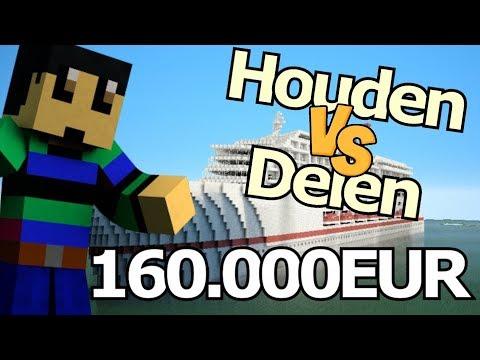 ZOU JIJ 160.000EUR DELEN OF HOUDEN?!! - Minetopia - #491   Minecraft Reallife Server