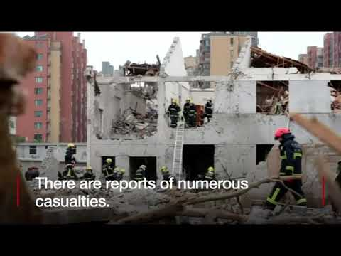 News headline of the day  The Chinese city of Ningbo is rocked by a deadly blast