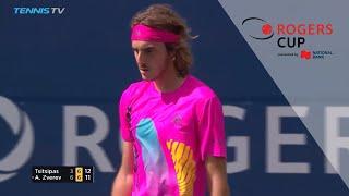 Rogers Cup 2018 Quarterfinals Highlights: Tsitsipas shines again, Nadal survives