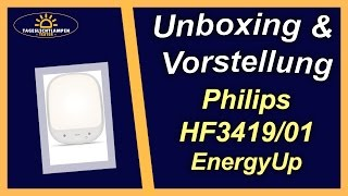 Philips HF3419/01 EnergyUp White • Unboxing & Produktvorstellung
