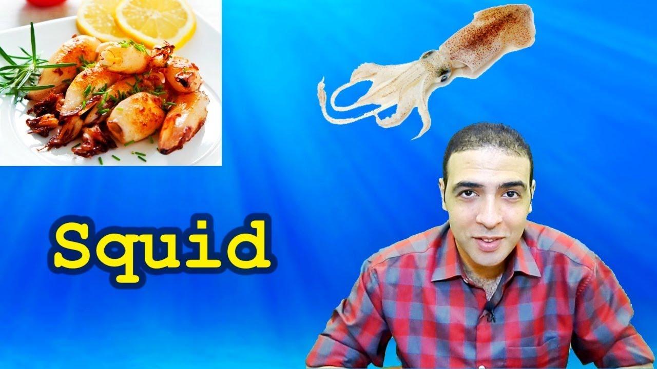 ماكولات بحرية باللغة الانجليزية Seafood Youtube